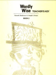 9780838894323: Wordly Wise Book 2 Teacher Key Grd 5