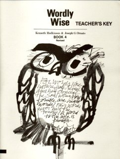 9780838894347: Wordly Wise Book 4 Teacher Key Grd 7