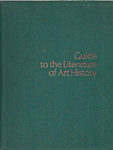 Guide to the Literature of Art History