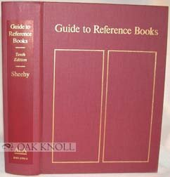 9780838903902: Guide to Reference Books