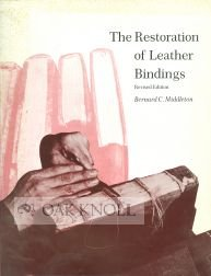 9780838903919: The Restoration of Leather Bindings (Ltp Publications ; No. 20)