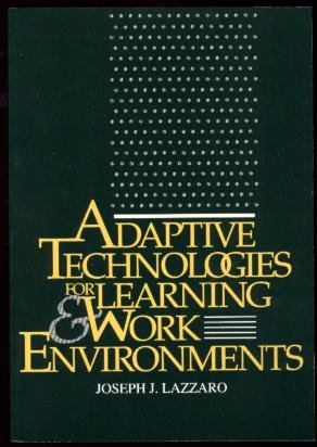 9780838906156: Adaptive Technologies for Learning & Work Environments