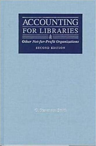 9780838907580: Accounting for Libraries and Other Not-For-Profit Organizatons