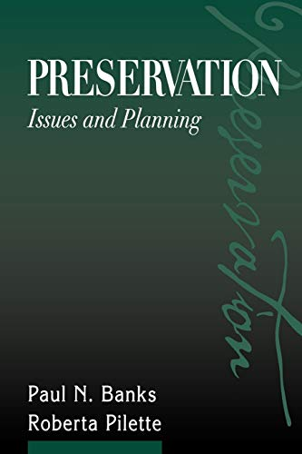 9780838907764: Preservation: Issues and Planning