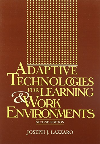 9780838908044: Adaptive Technologies for Learning & Work Environments