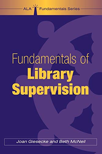 9780838908952: Fundamentals of Library Supervision