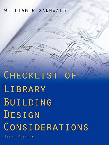 9780838909782: Checklist of Library Building Design Considerations