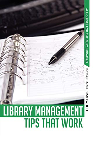 9780838911211: Library Management Tips That Work (ALA Guides for the Busy Librarian)