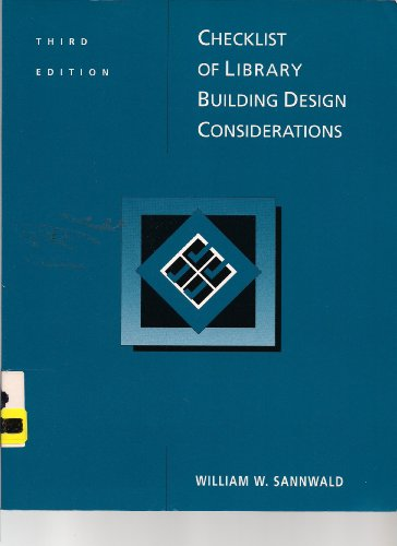 9780838934661: Checklist of Library Building Design Considerations