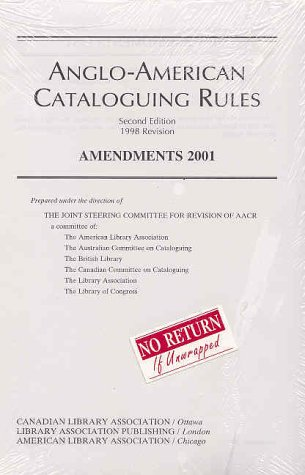 9780838934852: Anglo-American Cataloguing Rules