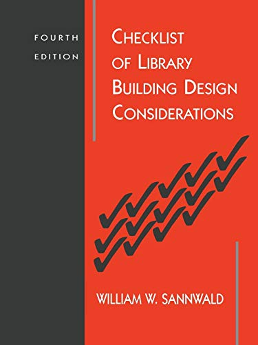 9780838935064: Checklist of Library Building Design Considerations