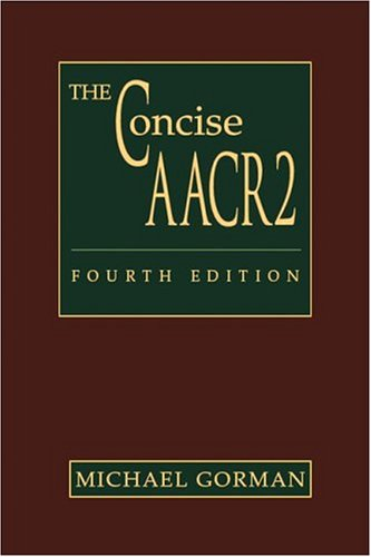 9780838935484: The Concise AACR2