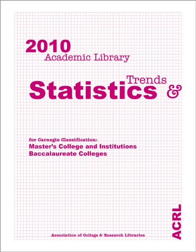 ACRL 2010 Academic Library Trends and Statistics: Masters/Baccalaureate volume: Association of...