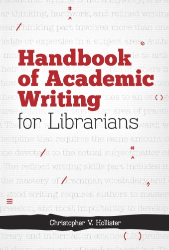 9780838986486: Handbook of Academic Writing for Librarians