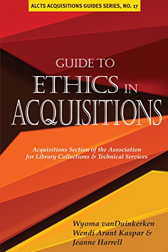 9780838987018: Guide to Ethics in Acquisitions (Alcts Acquisitions Guides)