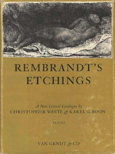 9780839010616: Rembrandt's etchings, an illustrated critical catalogue