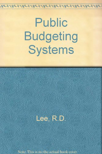 9780839105367: Public Budgeting Systems