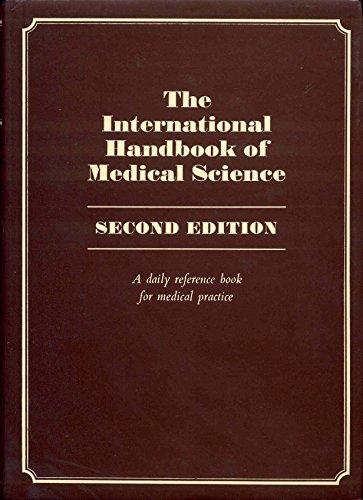 The International handbook of medical science: A: Horrobin