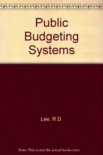 9780839109884: Public Budgeting Systems