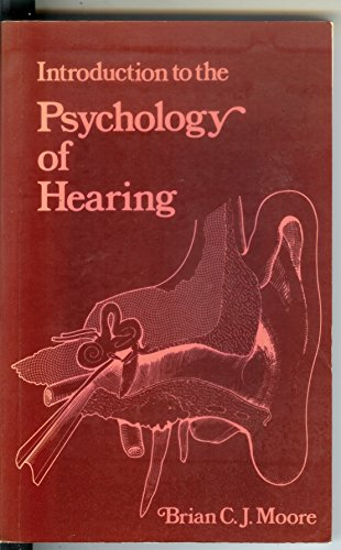 9780839109969: Introduction to the psychology of hearing