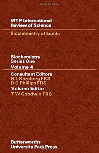 Biochemistry Series One: Biochemistry of Lipids.: Goodwin, T W [Ed]
