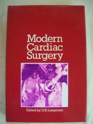 9780839112853: Modern Cardiac Surgery