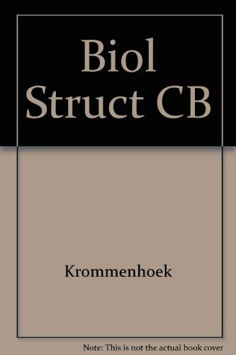 9780839114024: Biological Structures (English and Dutch Edition)