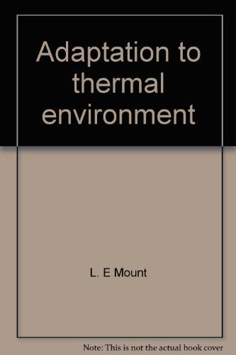 9780839114208: Adaptation to thermal environment: Man and his productive animals (A Series of student texts in contemporary biology)