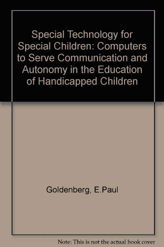 9780839114413: Special Technology For Special Children