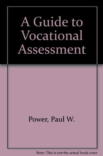9780839117186: A Guide to Vocational Assessment