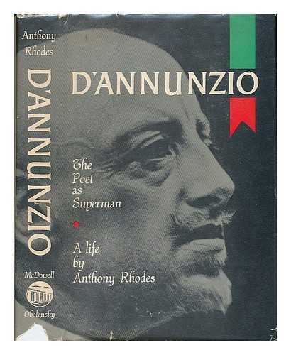 9780839210221: Dannunzio: The Poet As Superman