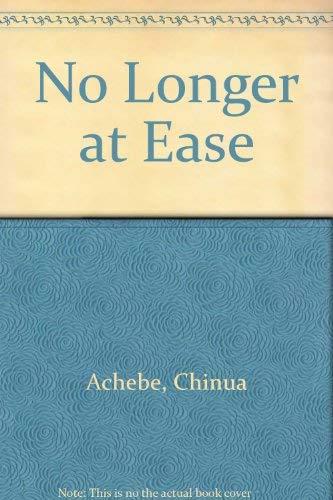 9780839210771: No Longer at Ease