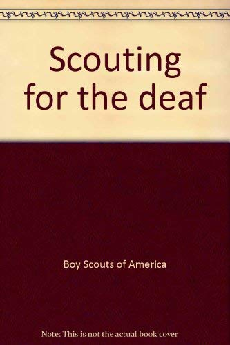 9780839530602: Scouting for the deaf