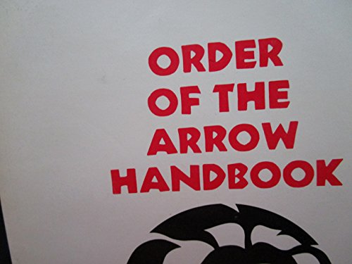 9780839550006: Order of the Arrow Handbook