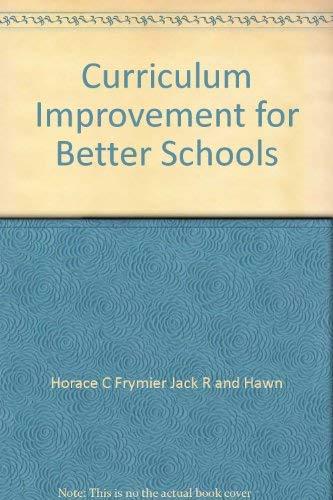 9780839685500: Curriculum Improvement for Better Schools