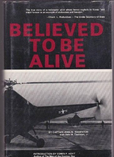 Believed to be alive.: THORNTON, JOHN W.