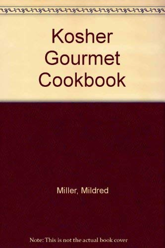 9780839748311: Kosher Gourmet Cookbook