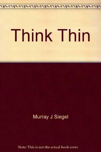 9780839779926: Think Thin