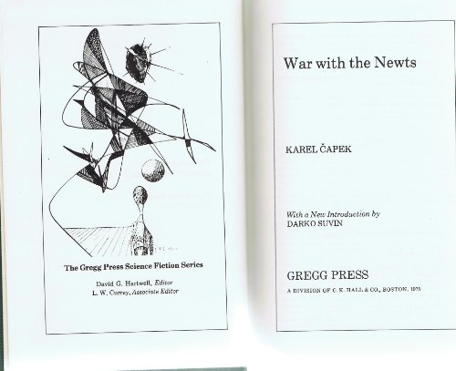 9780839823018: War with the newts (The Gregg Press science fiction series)