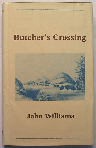 9780839824510: Butcher's Crossing (The Gregg Press Western Fiction Series)