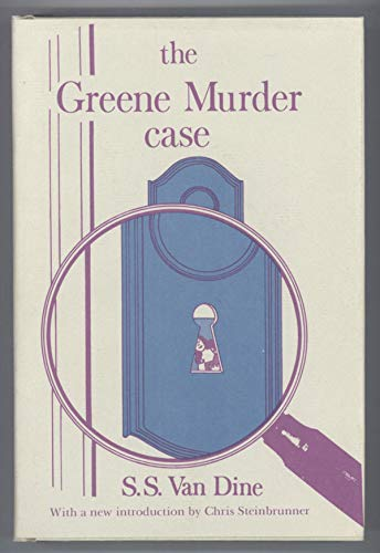 9780839825555: The Greene murder case (Gregg Press mystery fiction series)