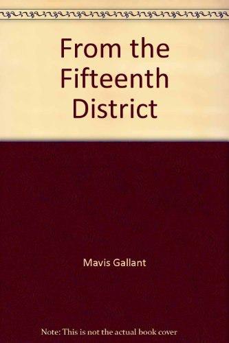 9780839828976: From the Fifteenth District