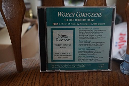9780840000309: Women Composers: The Lost Tradition Found - 2 CDs (Women Composers: The Lost Tradition Found)