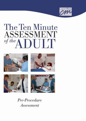 9780840019981: Ten Minute Assessment of the Adult: Pre-Procedure Assessment (CD) (Med-Surg Nursing Skills)