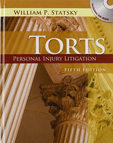 9780840021151: Torts: Personal Injury Litigation (Book Only)