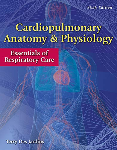 9780840022585: Cardiopulmonary Anatomy & Physiology: Essentials of Respiratory Care