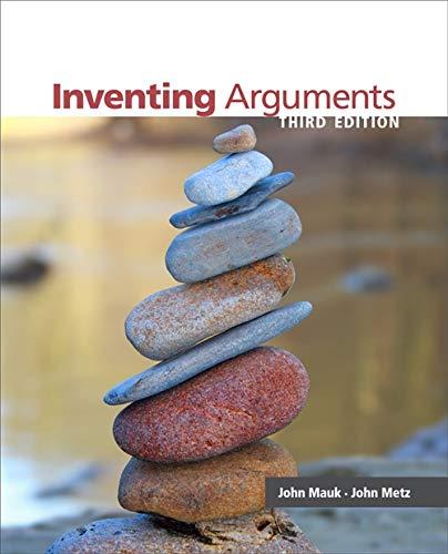 9780840027757: Inventing Arguments