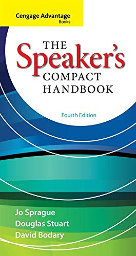9780840028150: Cengage Advantage Books: The Speaker S Compact Handbook