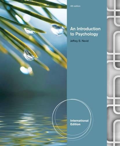 9780840028198: An Introduction to Psychology