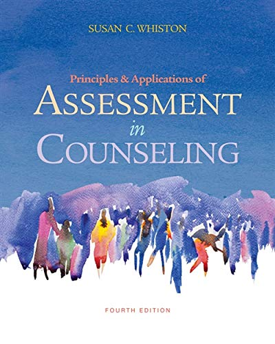 9780840028556: Principles and Applications of Assessment in Counseling, 4th Edition